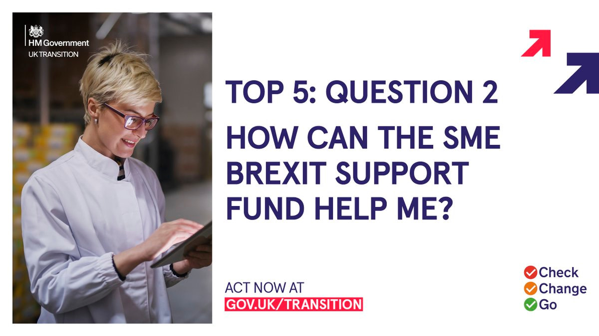 How Can SME Brexit Support Fund help me