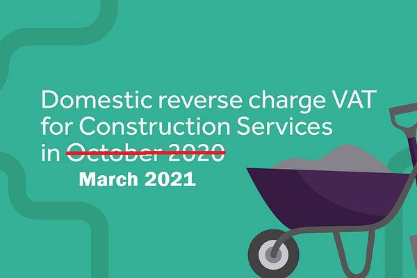 VAT reverse charge on construction services.
