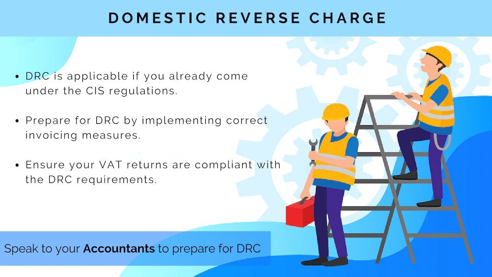 Domestic Reverse Charge (DRC) – How to Verify Suppliers & Customers